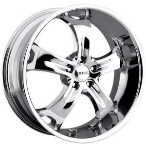 Boss Motorsports 329 Chrome Wheel (22x9/5x4.5
