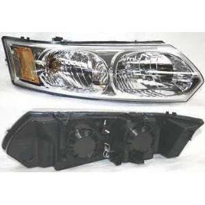 03 05 SATURN ION SEDAN HEADLIGHT RH (PASSENGER SIDE), Assy