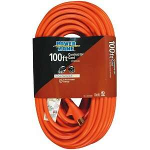 Outdoor Extension Cord,12/3 Gauge, 100