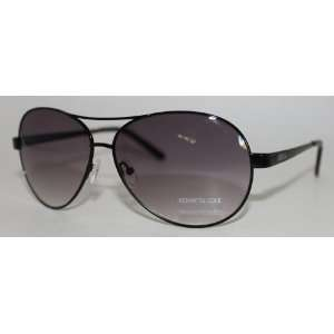 Kenneth Cole Reaction Sunglass Spraying Black Aviator