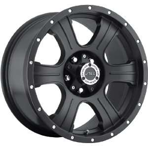 16x8 V TEC Assassin 8x165.1 8x6.5  6mm Matte Black Wheels Rims Inch 16