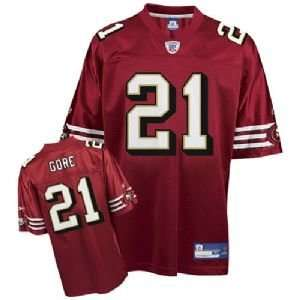 Frank Gore #21 San Francisco 49ers NFL Replica Player Jersey (Team