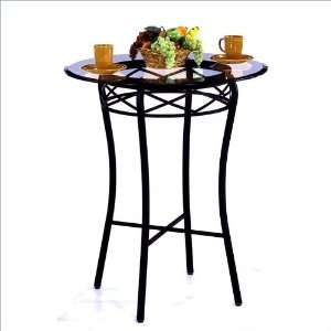 36 Round Tempo Madrid 40 Bar Height Pub Table Furniture & Decor