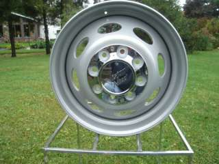19.5 X 6.75 VISION STEEL CHEVY FORD DODGE DUALLY WHEELS