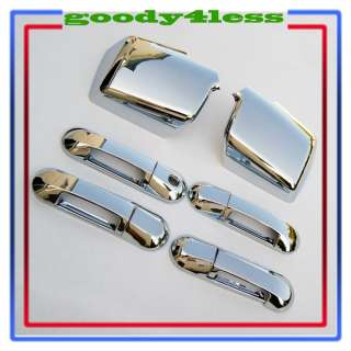 FORD EXPLORER SPORT TRAC CHROME HANDLE MIRROR COVERS 10