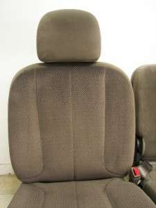 02 08 DODGE RAM 1500 2500 3500 POWER FRONT SEATS CENTER CONSOLE JUMP
