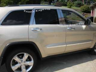 2011 2012 Jeep Grand Cherokee WK2 Chrome 8P Pillar Post