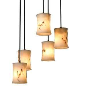 Justice Design Group LumenAria 5 Light Cluster Pendant R105674, Color