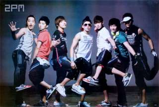 2PM Boy Band Singer Korean Dance Poster 23x35 in J1853