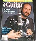Guitar Player Magazine June 1987 John Scofield / Includes Soundpage