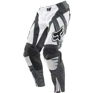 Fox Racing Airline Mens Motocross Motorcycle Pants   White / Size 28