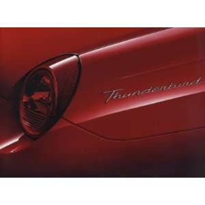 2002 Ford Thunderbird Dealer Sales Brochure Everything