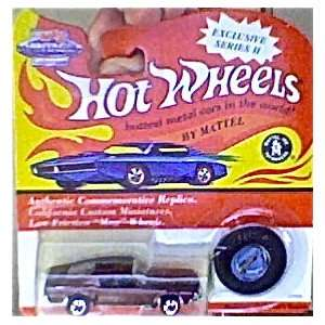 hot wheels 1993 red line dark brown mustang vintage collection series