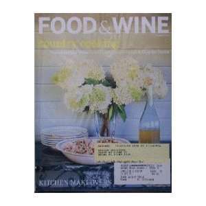 Food & Wine Magazine (Food & Wine, August 1998) Dana Cowin Books