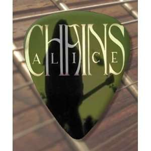 Alice In Chains (Green) Premium Guitar Pick x 5 Medium