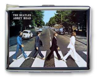 THE BEATLES ABBEY ROAD CIGARETTE CASE LIGHTER