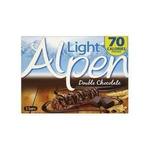 Alpen Light Bars Double Chocolate 5Pk Grocery & Gourmet Food