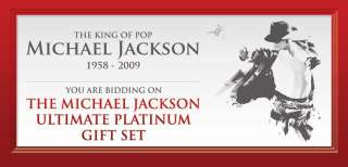 MICHAEL JACKSON MEMORIAL PROGRAM ULTIMATE PLATINIUM SET