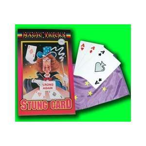 Card Street Magic Trick Illusion Close Up Appear