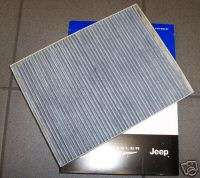 Chrysler and Dodge minivan Cabin AIR Filter replacement