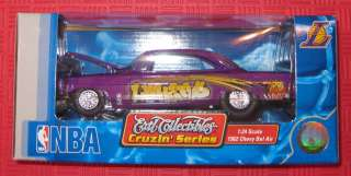 ERTL COLLECTIBLES LOS ANGELES LAKERS 1962 CHEVY BEL AIR 124 BNIB FREE