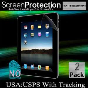 Ipad 1 Premium Anti Glare Fingerprint LCD Screen Protector Matte Film