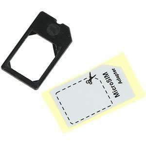 Micro SIM card adapter 3FF Mini UiCC (100% German Made