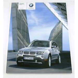 2009 09 BMW X3 Sports Truck SUV BROCHURE xDrive30i