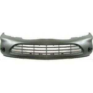 99 CHEVY CHEVROLET CAVALIER FRONT BUMPER COVER, Raw, Except Z24 Models