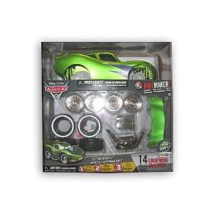 NIB Cars 2 Ridemakerz Custom Kit   Hot Rod Lightning Mcqueen Green 14