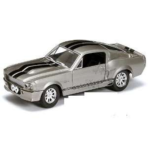 Yatming   Shelby GT500 Hard Top (1967, 124, Grey w/ Black