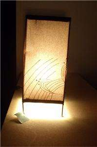 NEW Contemporary Square Fabric Table Lamp