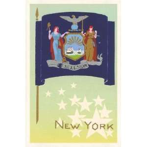 New York State Flag , 3x4