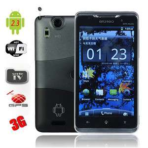 GSM Dual SIM Android 2.3 TV WIFI GPS Capacitive Screen Cell Phone X15i