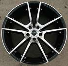 RUFF RACING 945 20 BLACK RIMS WHEELS BMW X6 XDRIVE / 20 X 10 5H +45
