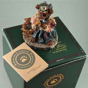 Boyds Bears Friends The Collector Box COA #227707