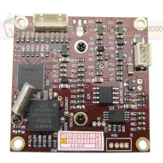 , SONY Effio, DSP SONY CCD, Board Camera, 3.6mm MTV Lens with OSD