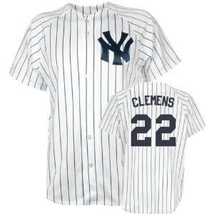 Majestic MLB Home Pinstripe Replica New York Yankees Jersey Sports