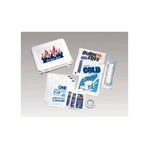 Small Burn First Aid Kit (case w/supplies) Health