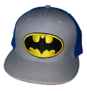 NEW DC COMIC SUPER HERO BATMAN ADJUSTABLE BALL CAP HAT