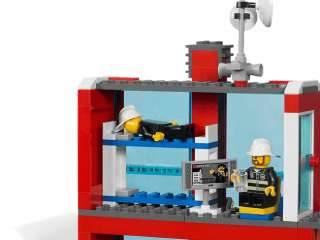 Brand Korea Lego City Fire 7208 Figures Sets Toys Fire Station