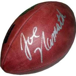 Joe Namath Autographed NFL Duke Football Sports
