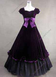 Southern Belle Civil War Ball Gown Dress Prom 273 L