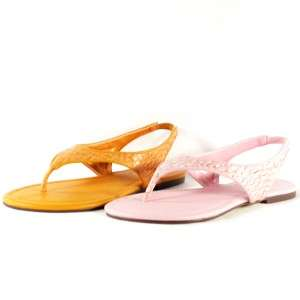 Womens Slingback Thong Sandals, Shoes, Pink 9US/40EU