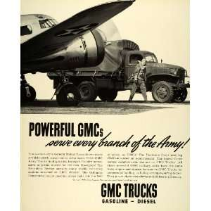 1941 Ad General Motors Company GM Military Trucks Wartime
