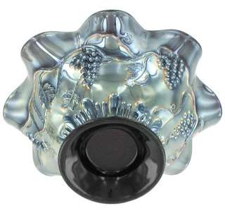 RADIUM LUSTRE CARNIVAL GLASS JEWISH STAR OF DAVID & BOWS BOWL