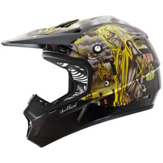 ONEAL ROCKHARD 2 IRON MAIDEN KILLERS LIMITED EDITION MX MOTOCROSS