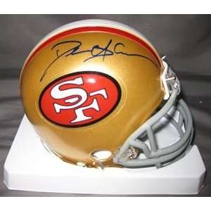 Deion Sanders Signed 49ers Mini Helmet Sports