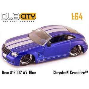 Dub City Blue Chrysler Crossfire 164 Scale Die Cast Car Toys & Games
