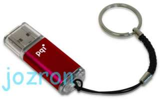 PQI U273 USB Flash Pen Drive Stick Disk 4G 4GB New Red